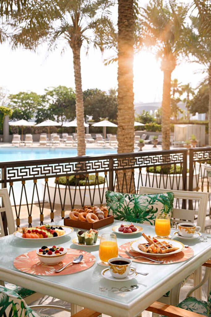 Palazzo Versace Dubai Hotel - Jaddaf Waterfront, Dubai, UAE - Giardino Terrace Breakfast