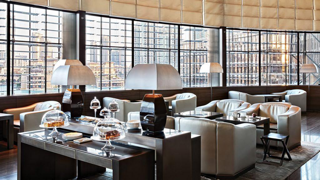 Armani Hotel Dubai - Burj Khalifa, Dubai, UAE - Armani Lounge