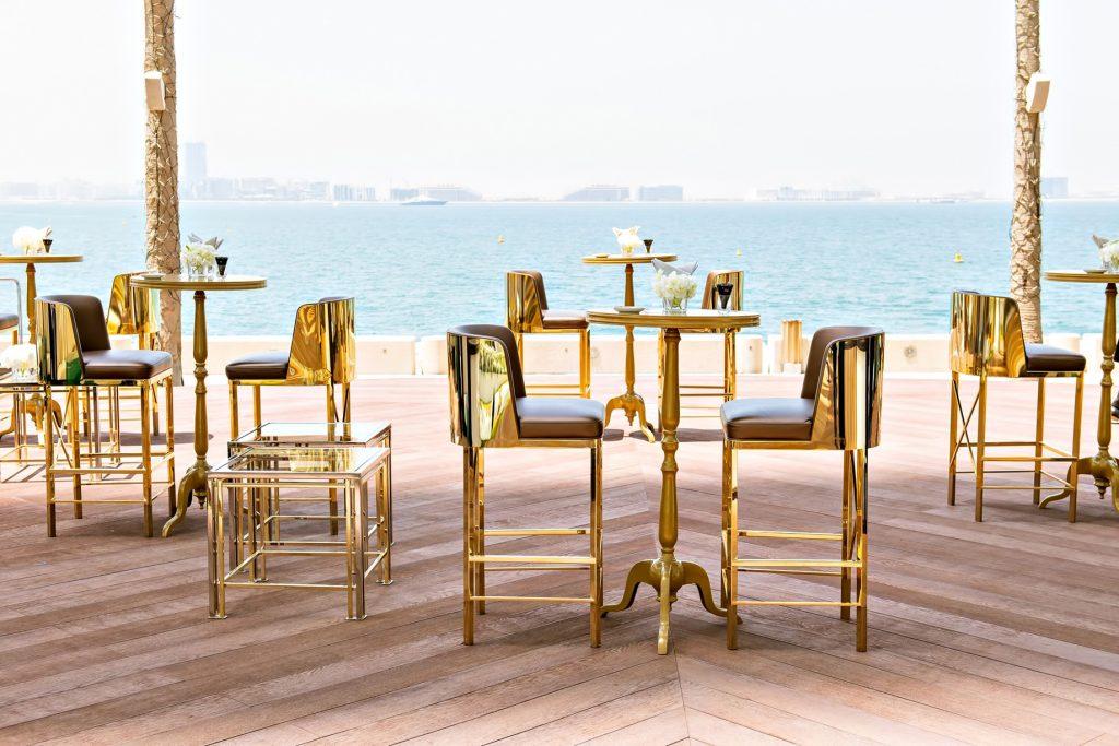 Burj Al Arab Luxury Hotel - Jumeirah St, Dubai, UAE - Outdoor Lounge