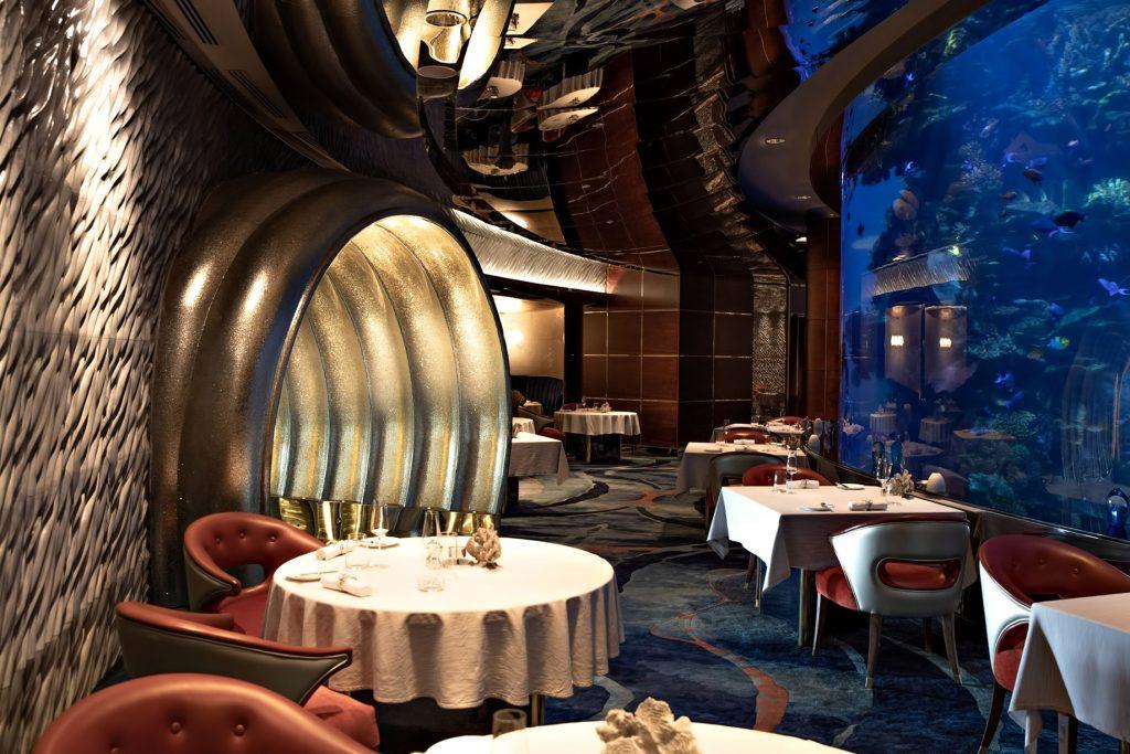 Burj Al Arab Luxury Hotel - Jumeirah St, Dubai, UAE - Al Mahara Restaurant