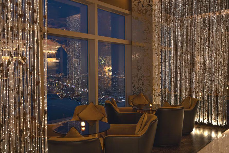 Burj Al Arab Luxury Hotel - Jumeirah St, Dubai, UAE - Gold on 27 Night City View