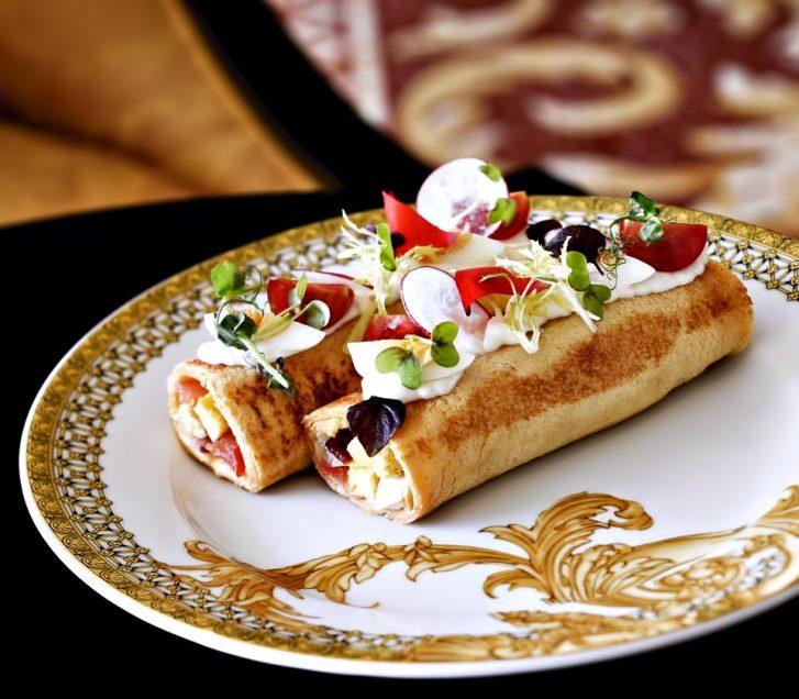 Palazzo Versace Dubai Hotel - Jaddaf Waterfront, Dubai, UAE - Inspired Culinary Cuisine