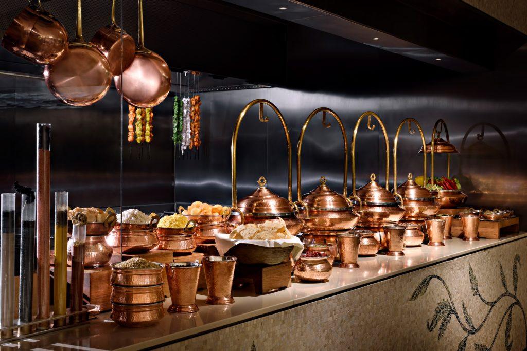Palazzo Versace Dubai Hotel - Jaddaf Waterfront, Dubai, UAE - Giardino Live Cooking Station
