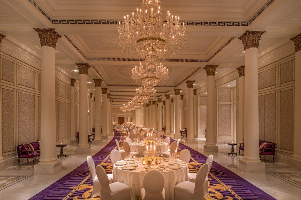 Palazzo Versace Dubai Hotel - Jaddaf Waterfront, Dubai, UAE - Pre Function Area Dining