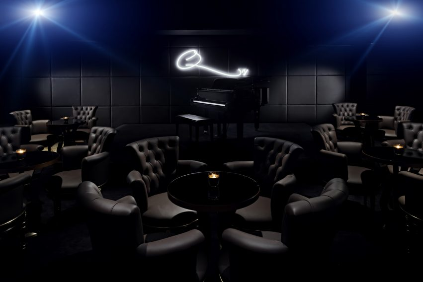 Palazzo Versace Dubai Hotel - Jaddaf Waterfront, Dubai, UAE - Q Bar Lounge