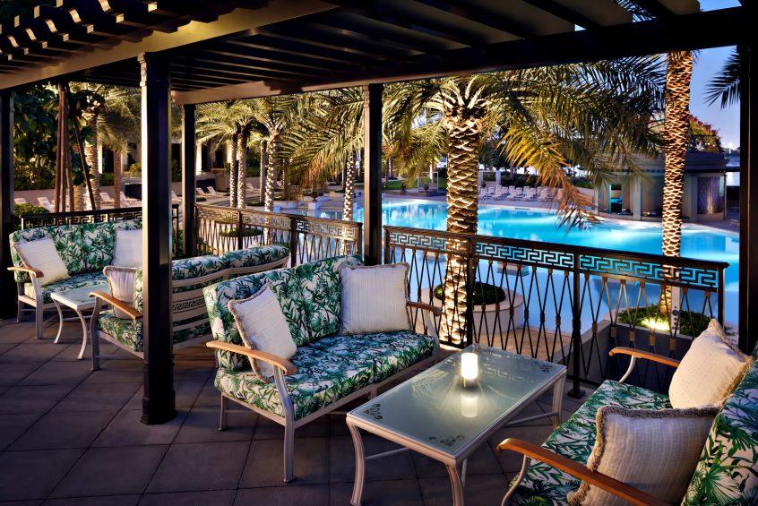 Palazzo Versace Dubai Hotel - Jaddaf Waterfront, Dubai, UAE - Poolside Gazebo