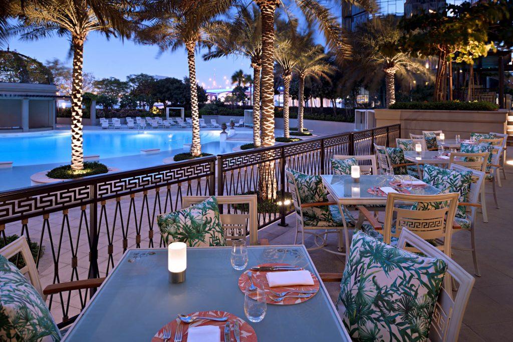 Palazzo Versace Dubai Hotel - Jaddaf Waterfront, Dubai, UAE - Giardino Terrace