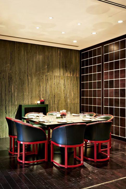 Armani Hotel Dubai - Burj Khalifa, Dubai, UAE - Armani Hashi Dining Table