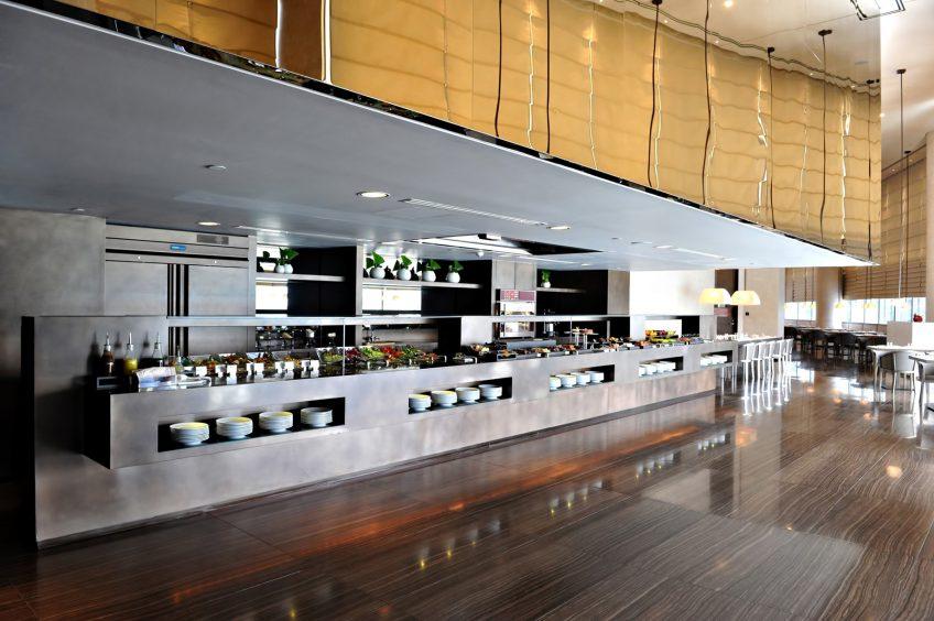Armani Hotel Dubai - Burj Khalifa, Dubai, UAE - Armani Mediterraneo Buffet Dining