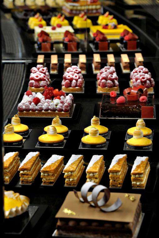 Armani Hotel Dubai - Burj Khalifa, Dubai, UAE - Armani Deli Desserts