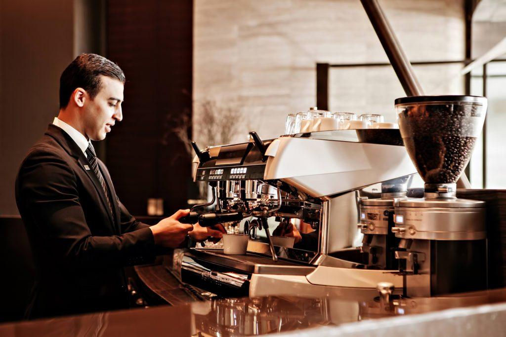 Armani Hotel Dubai - Burj Khalifa, Dubai, UAE - Armani Cappuccino Coffee Bar
