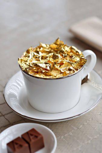 Armani Hotel Dubai - Burj Khalifa, Dubai, UAE - Armani Signature 23 Carat Golden Cappuccino
