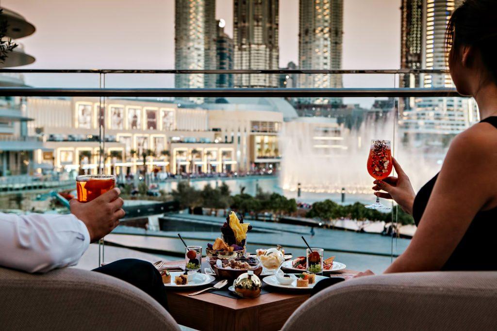 Armani Hotel Dubai - Burj Khalifa, Dubai, UAE - Armani Private Balcony Dining