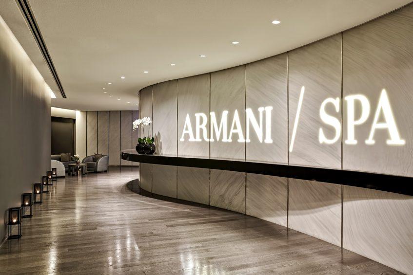 Armani Hotel Dubai - Burj Khalifa, Dubai, UAE - Armani SPA Lounge