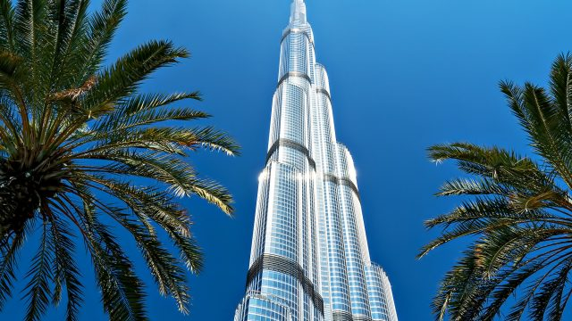 Burj Khalifa - A Stunning Visual of Engineering Excellence as the World's Tallest Building in Dubai