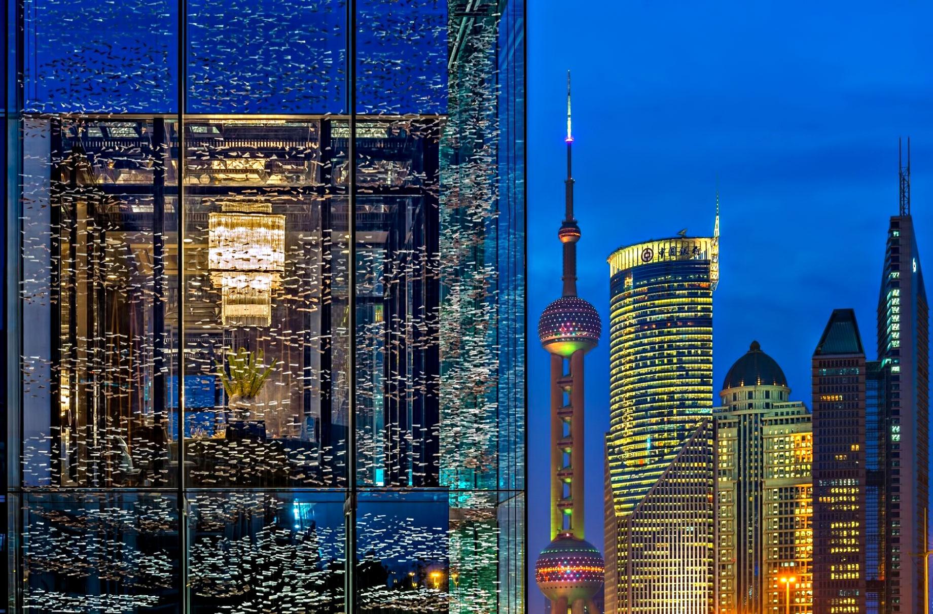 Regent Shanghai Pudong Luxury Hotel - Shanghai, China