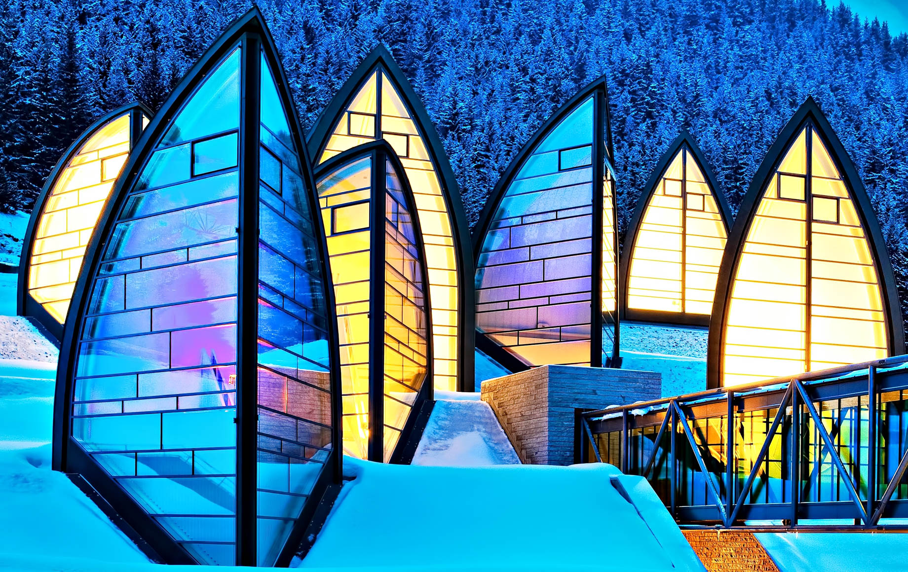 Tschuggen Grand Luxury Hotel - Arosa, Switzerland