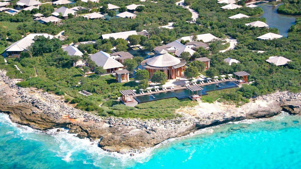 Amanyara Luxury Resort - Providenciales, Turks and Caicos Islands - Aerial