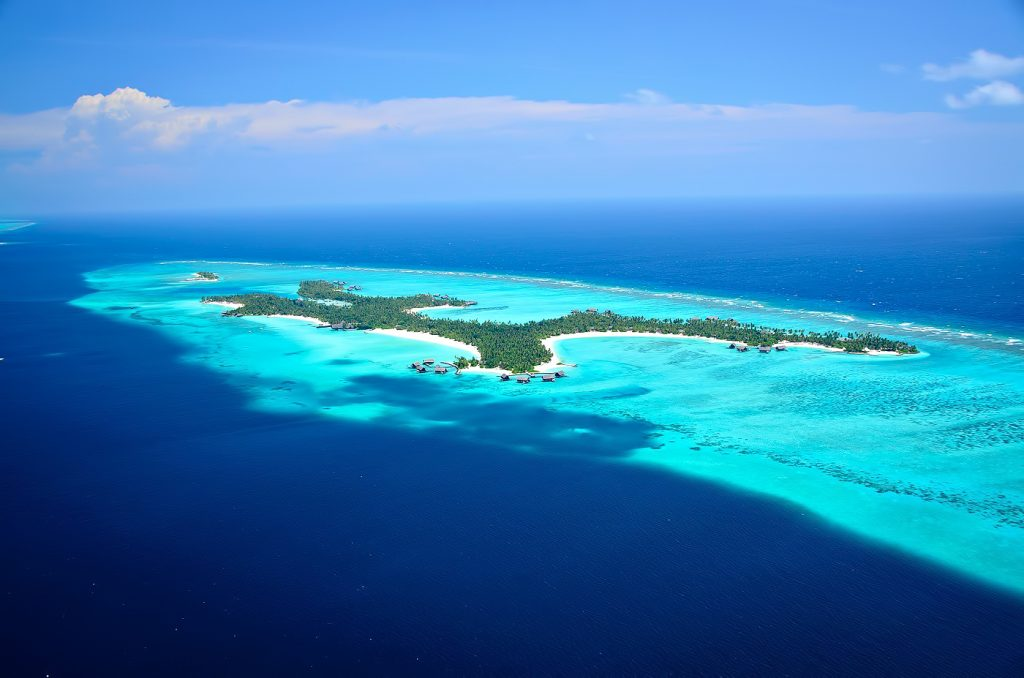 One&Only Reethi Rah Luxury Resort - North Male Atoll, Maldives - Resort Aerial