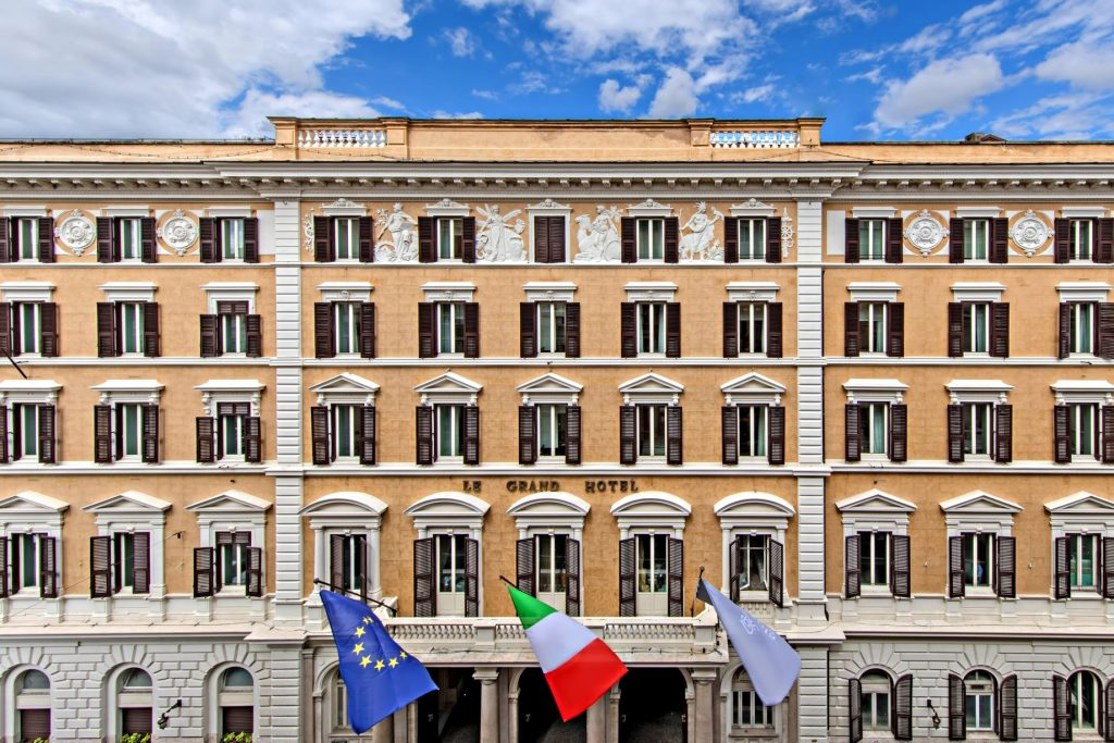 The St. Regis Rome Luxury Hotel - Rome, Italy - Hotel Facade