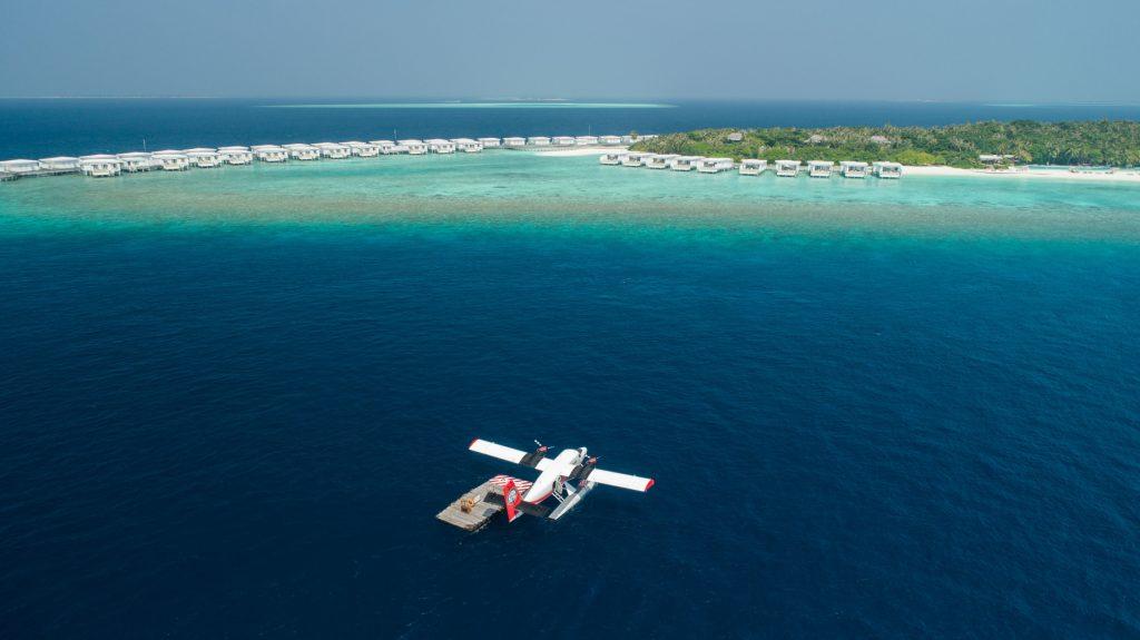 Amilla Fushi Luxury Resort and Residences - Baa Atoll, Maldives - Sea Plane Arrival