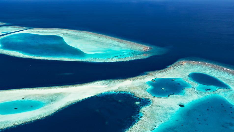 Cheval Blanc Randheli Luxury Resort - Noonu Atoll, Maldives - Indian Ocean Aerial