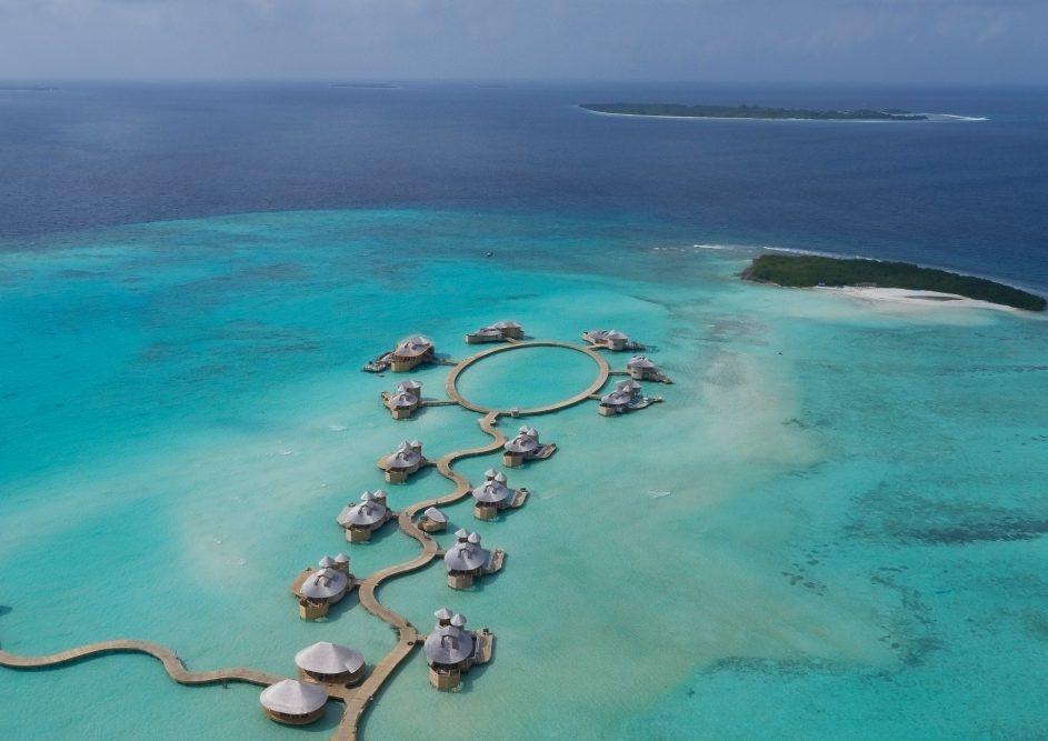 Soneva Jani Luxury Resort - Noonu Atoll, Medhufaru, Maldives - Aerial