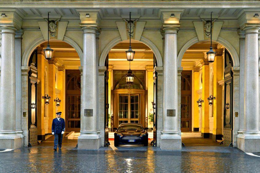 The St. Regis Rome Luxury Hotel - Rome, Italy - Entrance
