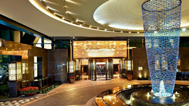 The St. Regis Shenzhen Luxury Hotel - Shenzhen, China - Entrance