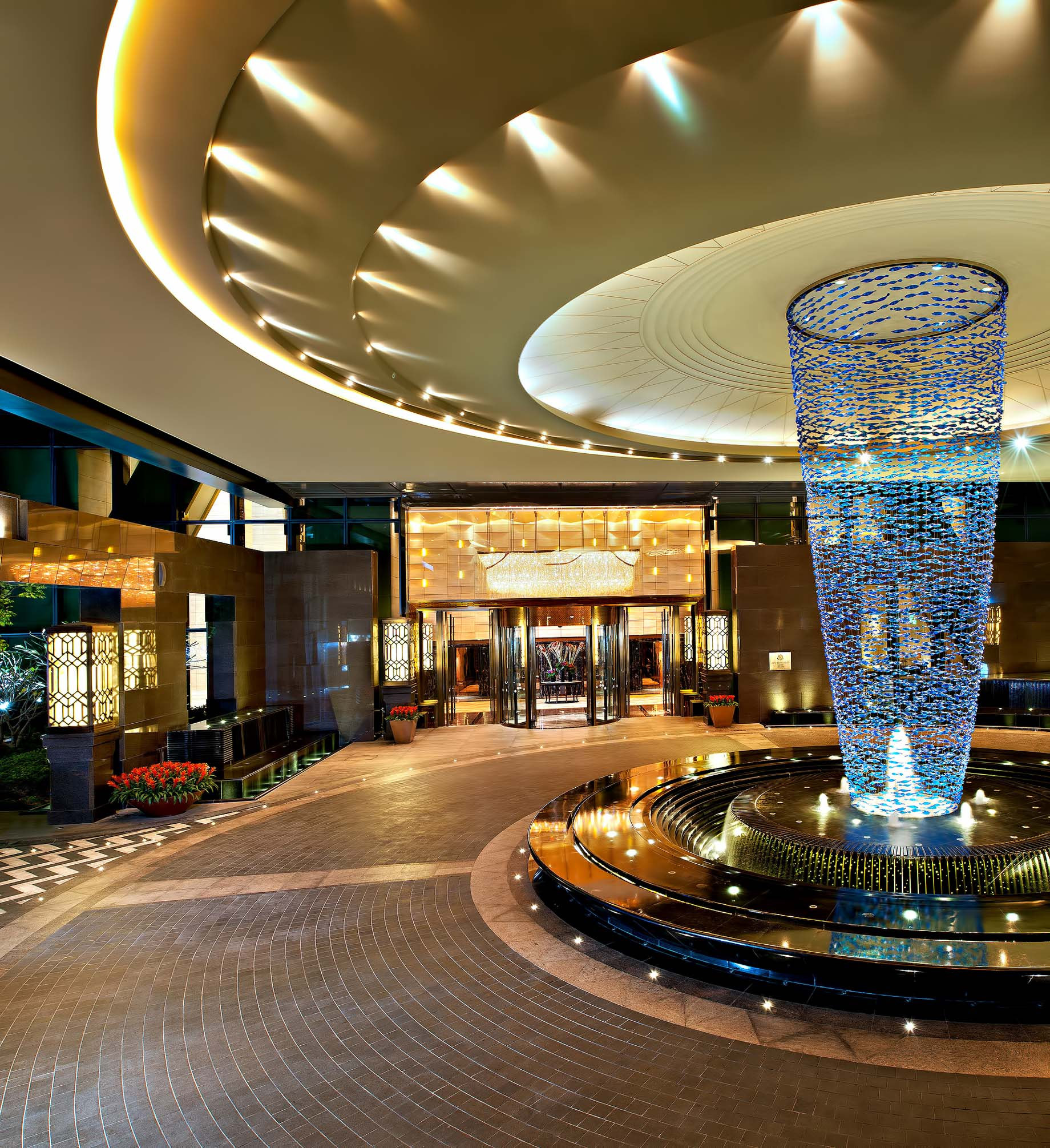 The St. Regis Shenzhen Luxury Hotel – Shenzhen, China – Entrance