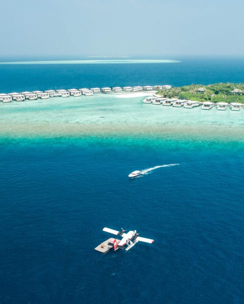 Amilla Fushi Luxury Resort and Residences - Baa Atoll, Maldives - Sea Plane Arrival Boat