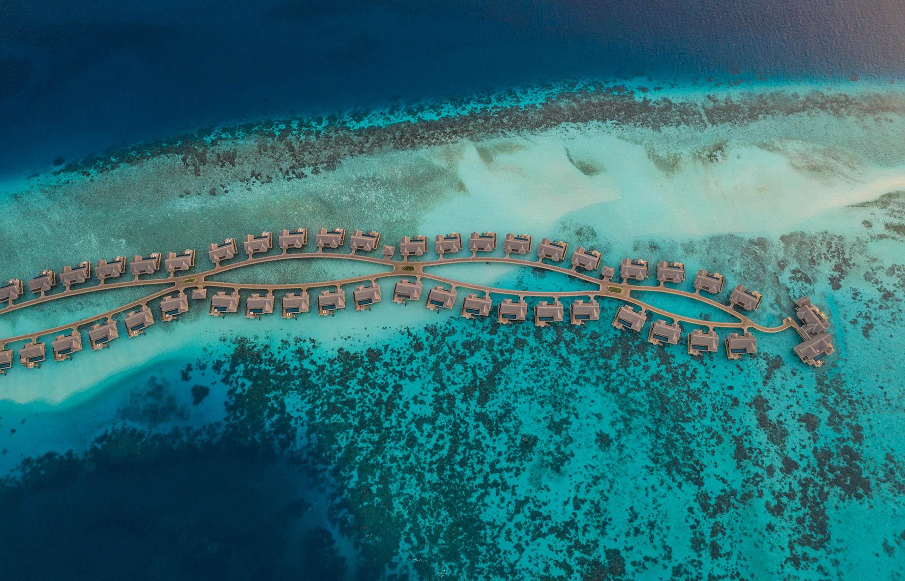 Joali Maldives Luxury Resort – Muravandhoo Island, Maldives – Aerial