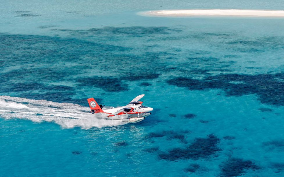 One&Only Reethi Rah Luxury Resort - North Male Atoll, Maldives - Seaplane Landing