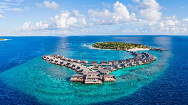 The St. Regis Maldives Vommuli Luxury Resort - Dhaalu Atoll, Maldives - Vommuli Island