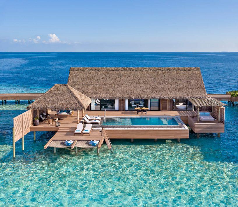 Waldorf Astoria Maldives Ithaafushi Luxury Resort - Ithaafushi Island, Maldives - Grand Overwater Villa