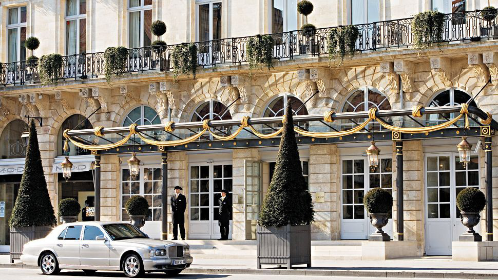 InterContinental Bordeaux Le Grand Hotel - Bordeaux, France - Exterior Entrance