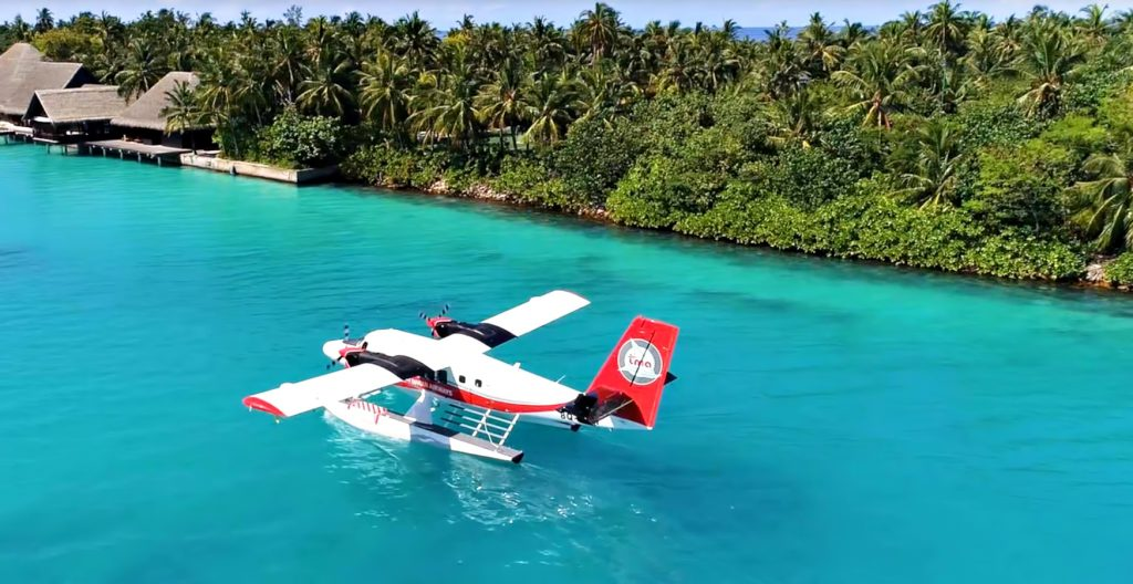 One&Only Reethi Rah Luxury Resort - North Male Atoll, Maldives - Seaplane Arrival