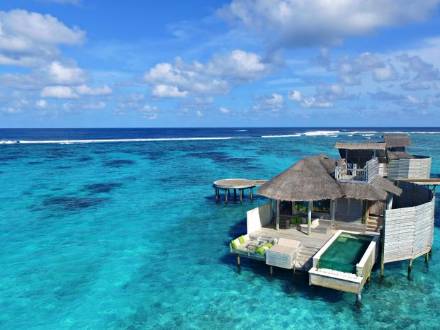 Six Senses Laamu Luxury Resort - Laamu Atoll, Maldives - Overwater Villa with Pool