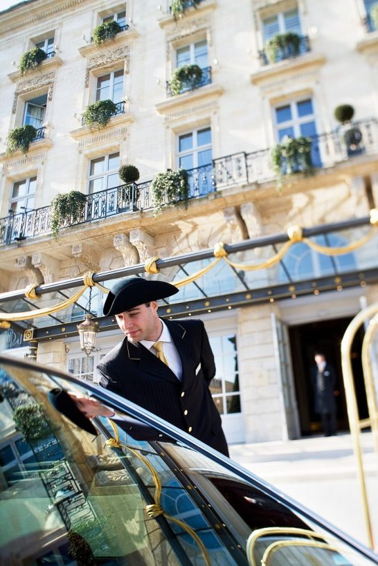 InterContinental Bordeaux Le Grand Hotel - Bordeaux, France - Exterior Concierge