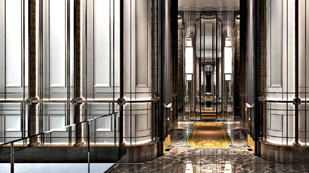 Regent Shanghai Pudong Luxury Hotel - Shanghai, China - Hall