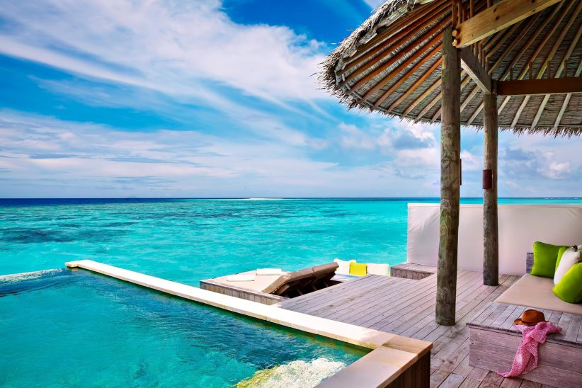Six Senses Laamu Luxury Resort - Laamu Atoll, Maldives - Overwater Villa Pool