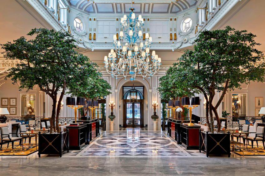 The St. Regis Rome Luxury Hotel - Rome, Italy - Main Lobby