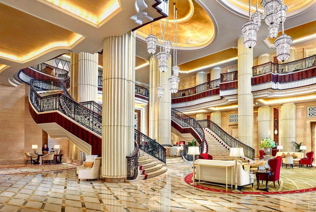 The St. Regis Abu Dhabi Luxury Hotel - Abu Dhabi, United Arab Emirates - Lobby