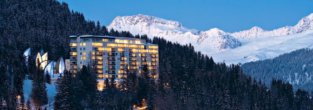Tschuggen Grand Luxury Hotel - Arosa, Switzerland - Winter Wonderland