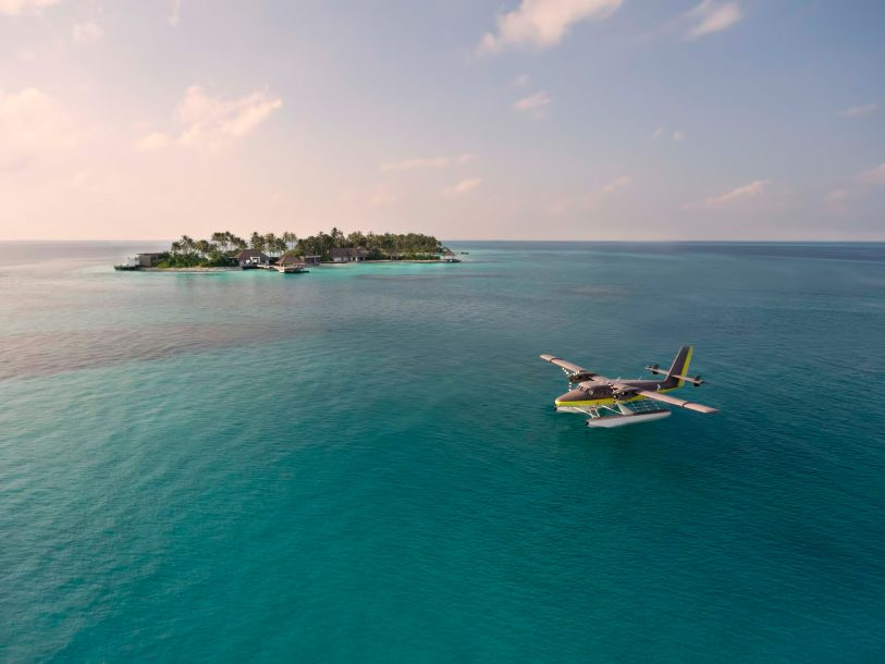 Cheval Blanc Randheli Luxury Resort - Noonu Atoll, Maldives - Private Island Resort Plane