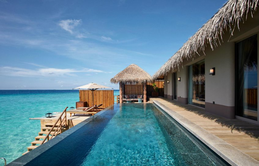 Joali Maldives Luxury Resort - Muravandhoo Island, Maldives - Water Villa Infinity Pool