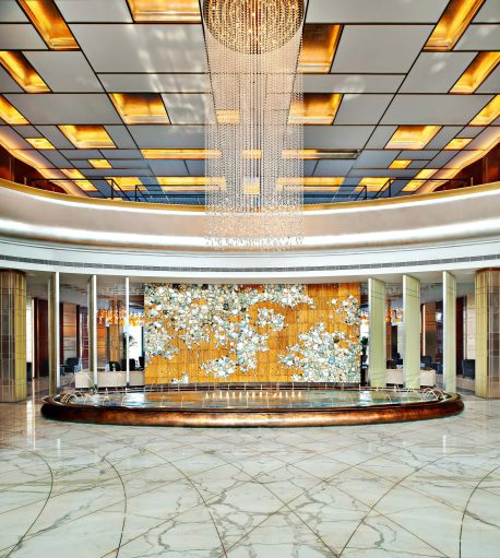 The St. Regis Tianjin Luxury Hotel - Tianjin, China - Entrance Fountain