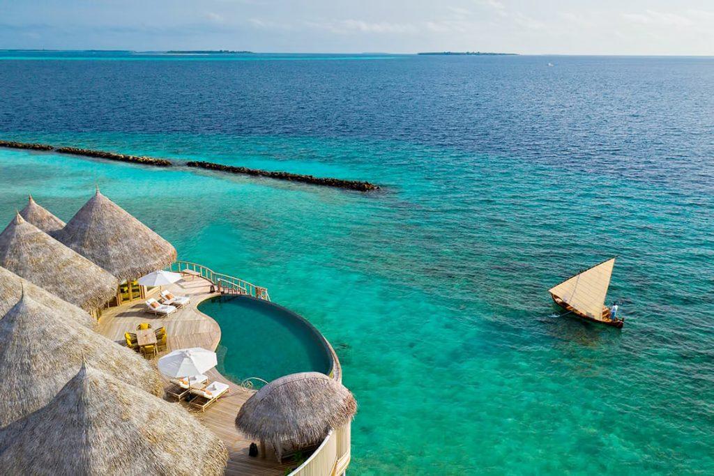 The Nautilus Maldives Luxury Resort - Thiladhoo Island, Maldives - Boat Arrival