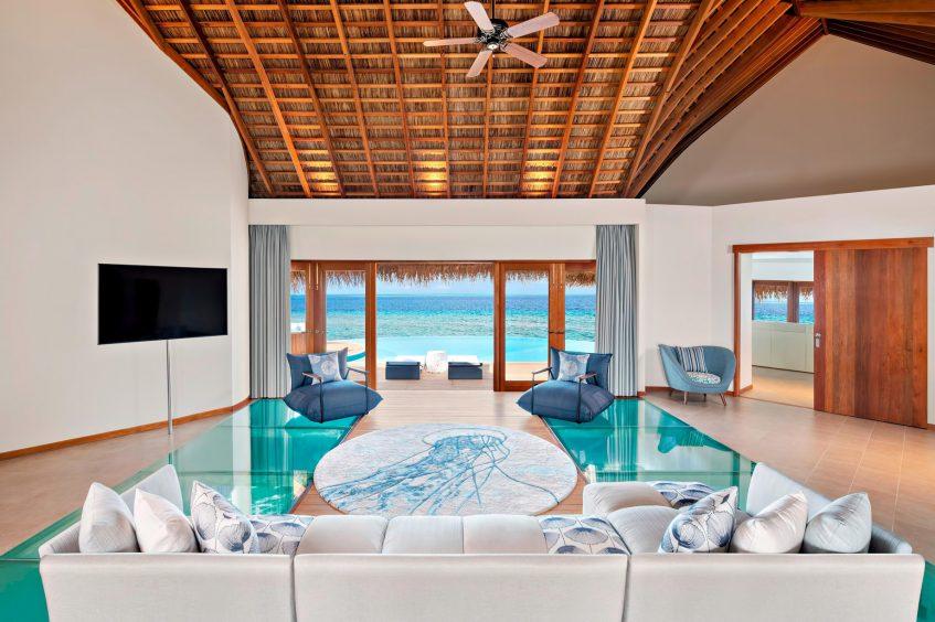 W Maldives Luxury Resort - Fesdu Island, Maldives - Extreme WOW Ocean Haven Interior