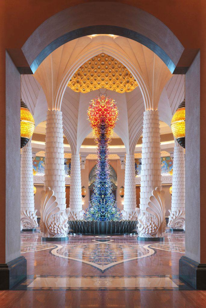 Atlantis The Palm Luxury Resort - Crescent Rd, Dubai, UAE - Arrival Lobby